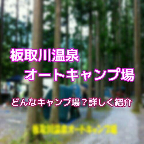 オート 温泉 場 川 板取 キャンプ